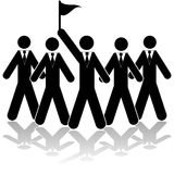 Meneur d'équipe illustration libre de droits