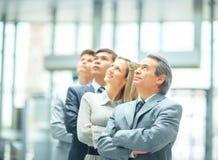 Meneur d'équipe réussi d'affaires Image stock