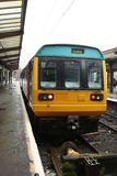 Meneur de train Preston à unités multiples diesel de la classe 142 Photographie stock