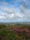 Menez-Hom und machen in Bretagne fest Stockfoto
