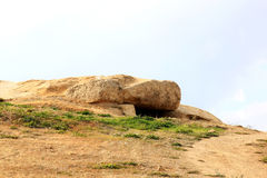 Menga, part of twinned dolmens, Antequera, Spain Stock Photography