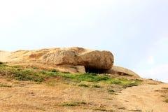 Menga, parte dei dolmens gemellati, Antequera, Spagna Fotografia Stock