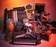 Mengeling van instrumenten Royalty-vrije Stock Foto