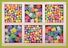 Mengeling van kleurrijk suikergoed royalty-vrije stock foto's