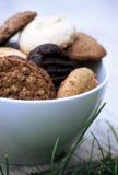Mengeling van koekjes Stock Fotografie