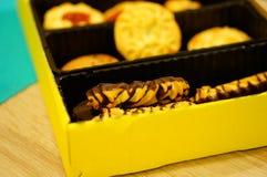 Mengeling van koekjes Royalty-vrije Stock Afbeelding