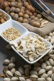 Mengeling van noten Stock Afbeeldingen
