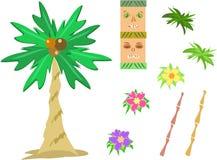 Mengeling van Tropische Beelden vector illustratie
