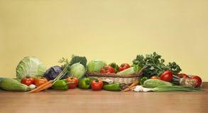 Mengeling van verse groenten Royalty-vrije Stock Foto