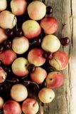 Mengeling van verse vruchten Royalty-vrije Stock Foto