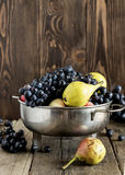 Mengeling van verse vruchten Stock Foto