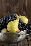 Mengeling van verse vruchten Stock Foto's