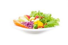 Mengelings verse groenten. Royalty-vrije Stock Foto's