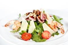 Mengelingssalade met tonijn Royalty-vrije Stock Foto