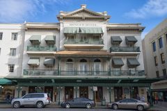 Menger hotell San Antonio Texas Arkivbilder
