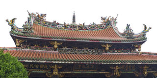 Mengjia Longshan Temple Royalty Free Stock Images