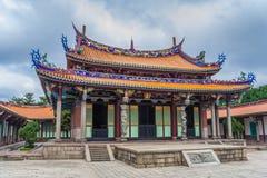 Mengjia Longshan Temple for a mixture of Buddhist and Taoist dei Stock Photos