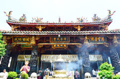 Mengjia Longshan Temple in Taipei Royalty Free Stock Images