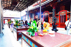 Mengjia Longshan Temple in Taipei Stock Photo
