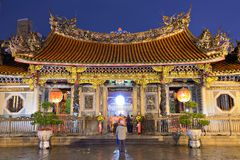 Mengjia Longshan Temple Royalty Free Stock Image