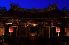 Mengjia storico Longshan Temple in Taipei, Taiwan Fotografia Stock