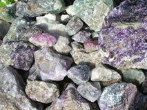 Mengsels van rotsen royalty-vrije stock afbeeldingen