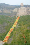 Mengshan gigant Buddha Obraz Stock