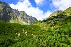 Mengusovska Valley in Vysoke Tatry (High Tatras), Slovakia Stock Photos