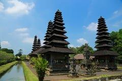 Mengwi Pura塔曼Ayun皇家寺庙在巴厘岛,印度尼西亚 库存照片