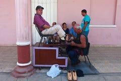 Menhaden de chaussure chez Coba Stree Photographie stock libre de droits