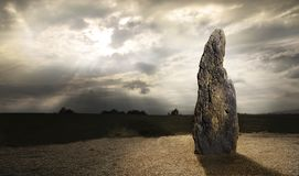 Free Menhir A Stone Man Near Village Klobuky In The Czech Republic Royalty Free Stock Photo - 103635385