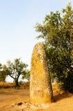 Menhir in Almendres Immagini Stock
