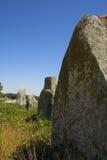 Menhir in Carnac-Brittany Fotografia Stock Libera da Diritti