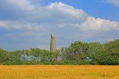 Menhir de Kerloas, Brittany, France Stock Photos