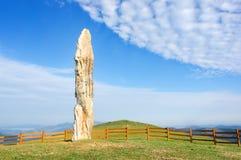 Menhir de Kurtzegan Imagen de archivo