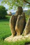 Menhir de Mijaraluenga Photo libre de droits