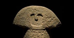 Menhir della statua Fotografie Stock