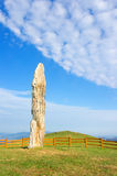 Menhir of Kurtzegan Stock Photo