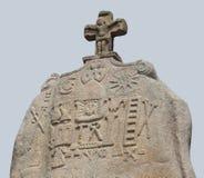 Menhir of Saint-Uzec Royalty Free Stock Photo