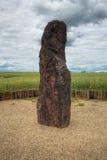 Menhir Stone Shepherd Royalty Free Stock Photos