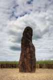 Menhir Stone Shepherd Royalty Free Stock Photography