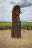 Menhir Stone Shepherd Royalty Free Stock Image