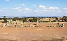 Menhir stones in Portugal Royalty Free Stock Photos