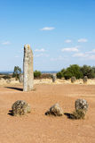 Menhir stones in Portugal Royalty Free Stock Image