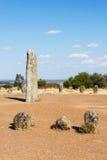 Menhir stones in Portugal Royalty Free Stock Image