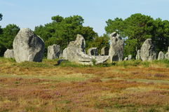 Menhirs Images stock