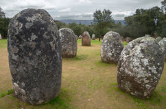 Menhirs Obrazy Royalty Free
