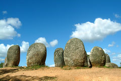 Menhirs Stock Image