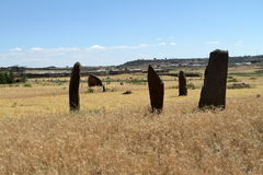 Menhirs of Aksum in Ethiopia Stock Photography