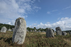 Menhirs Stock Images